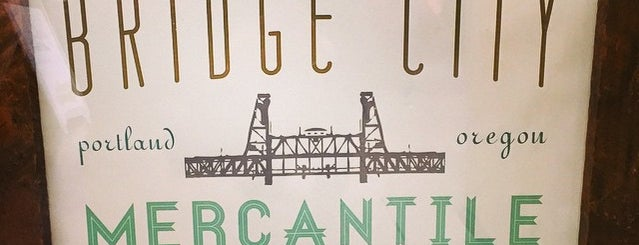 Bridge City Mercantile is one of Oregon.