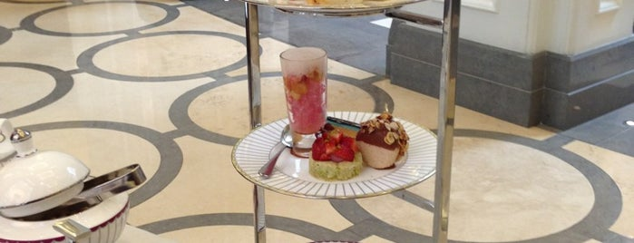 Corinthia Hotel is one of London Tea Times.