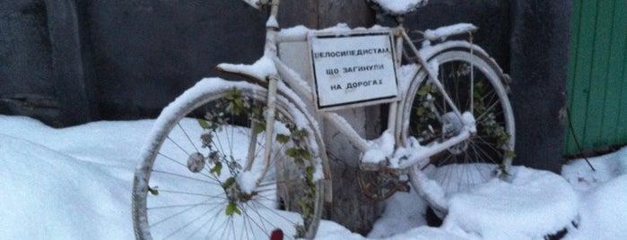 Памятник погибшим велосипедистам is one of Lieux sauvegardés par Sophia.