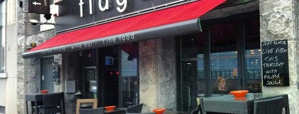 Tiago's is one of Nice spots around Schuman.