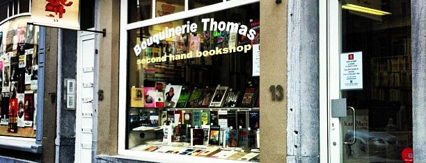 Bouquinerie Thomas is one of Brussel.