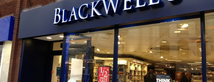 Blackwell's is one of London.