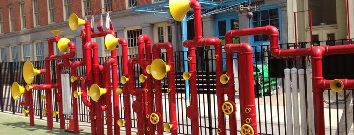 Imagination Playground at Burling Slip is one of The Financial District List by Urban Compass.