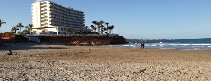 Playa de La Zenia   Cala Bosque is one of Lugares guardados de Mikel.