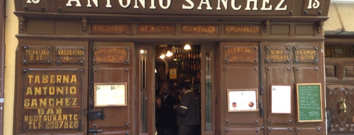 Taberna de Antonio Sánchez is one of Food & Fun - Madrid.