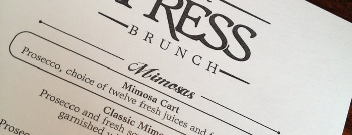 Press Wine Bar is one of CLE.