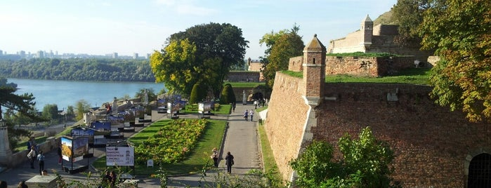 Festung von Belgrad Kalemegdan is one of Belgrade.