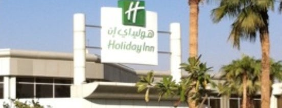 Holiday Inn is one of Tempat yang Disukai Azad.