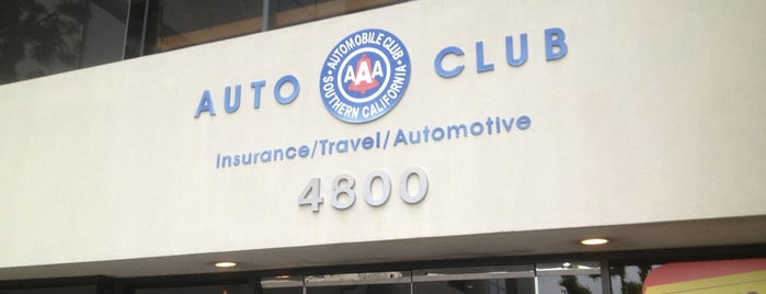AAA - Automobile Club of Southern California is one of Tempat yang Disimpan Ms. Treecey Treece.