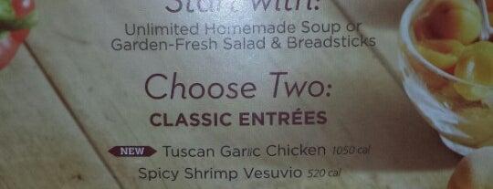Olive Garden is one of Restaurants.