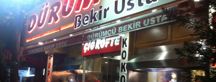 Dürümcü Bekir Usta is one of Bursa - Restaurant & Cuisine.