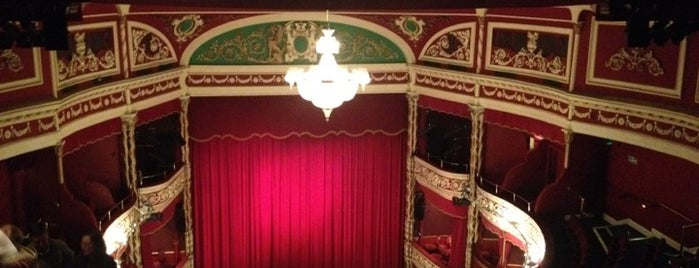 Gaiety Theatre is one of Dublin.