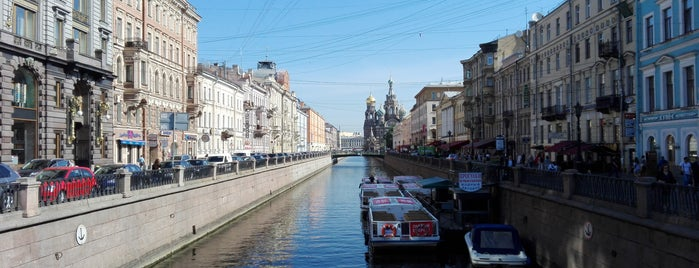 Griboyedov Canal is one of Санкт-Петербург.