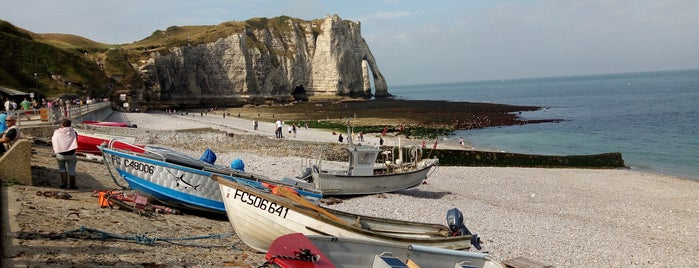 Plage d'Étretat is one of Overlord 2017.