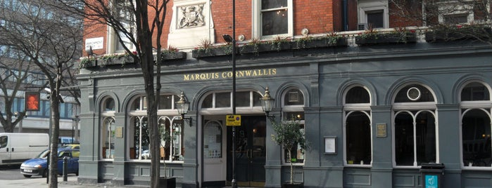 The Marquis Cornwallis is one of London freelancers lunchtime option.
