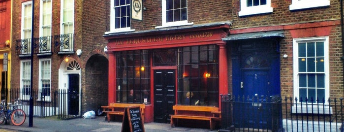 Jerusalem Tavern is one of London's best pubs & bars.