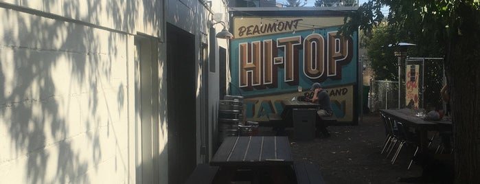 Hi-Top Tavern is one of Recommended cocktail lounges.