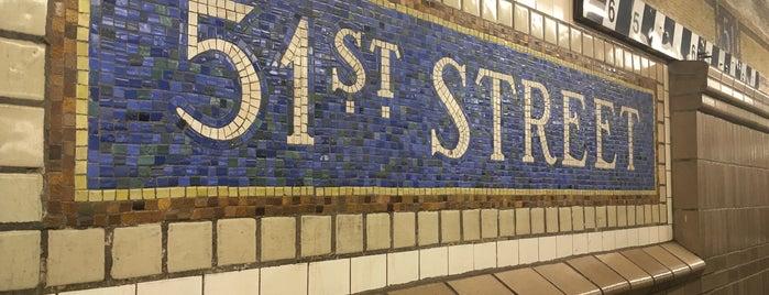 Lexington Avenue & East 51st Street is one of Crystal : понравившиеся места.