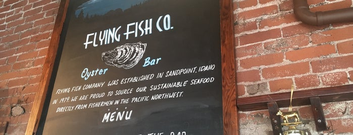 Flying Fish Co. is one of Portland.