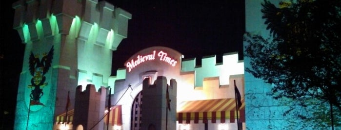 Medieval Times Dinner & Tournament is one of Attractions in central Dallas.