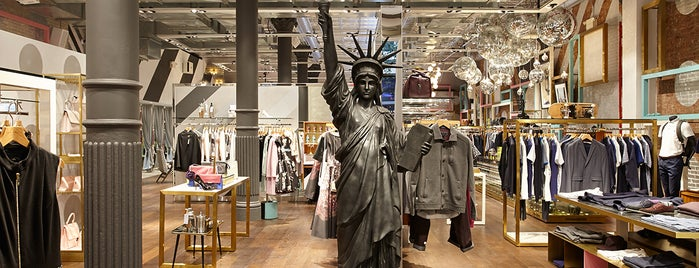 Ted Baker is one of 11 Howard's SoHo Discounts.