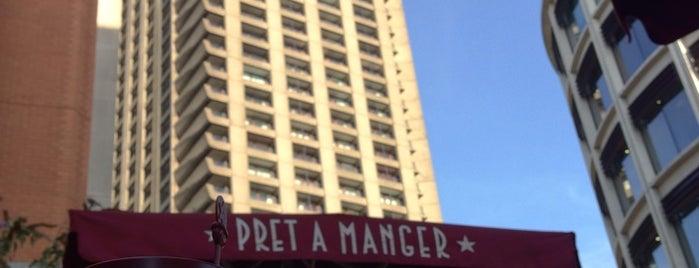 Pret A Manger is one of Orte, die Audrey gefallen.