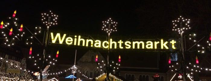 Braunschweiger Weihnachtsmarkt is one of Tempat yang Disukai Kübra.