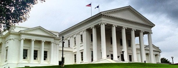 Virginia State Capitol is one of Historic Sites - Museums - Monuments - Sculptures.