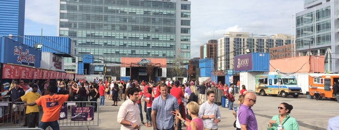 The Bullpen is one of Where to Eat and Drink Near Nationals Park.