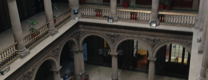 Antiguo Palacio Virreynal is one of Mexico City.