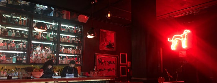 Galgo Speakeasy Mixology Bar is one of Mexico.