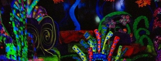 Putting Edge Glow-in-the-Dark Mini Golf is one of MIDWEST.