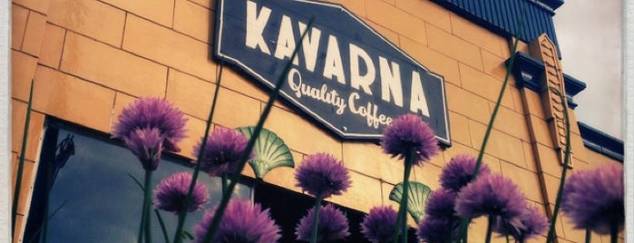 Kavarna Coffeehouse is one of Lugares guardados de Phil.