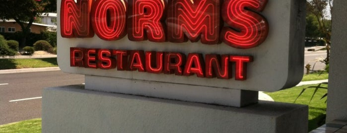 NORMS Restaurant is one of Places to eat in SoCal.