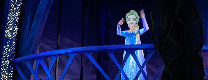 Frozen Ever After is one of Florida.