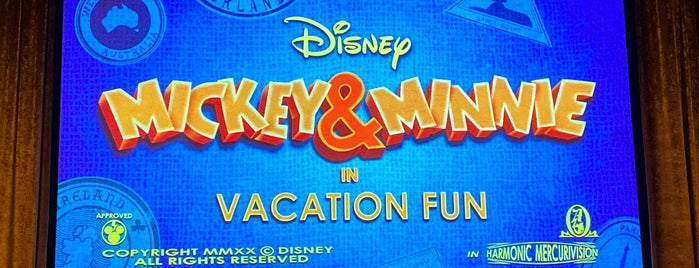 Vacation Fun - An Original Animated Short with Mickey & Minnie is one of Hollywood Studios.