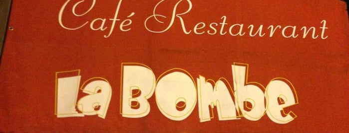 La Bombe is one of Hamburger.