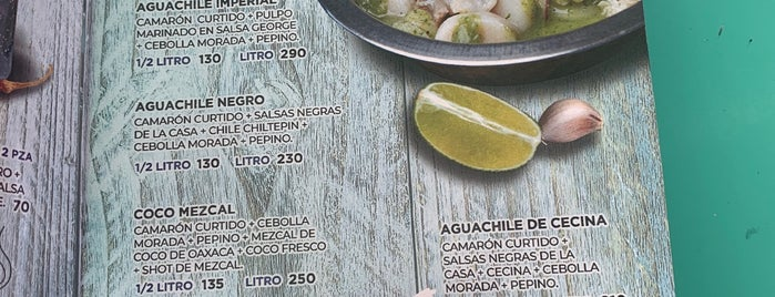 Rey Del Aguachile (Mariscos Co) is one of Eri's 2018.