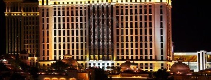 Caesars Palace Hotel & Casino is one of Vegas Places with Check-In Deals.
