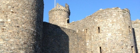 Harlech Castle is one of ЛОНДРЕСОвое.