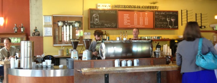 Metropolis Coffee is one of /r/coffee.