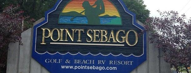 Point Sebago Resort is one of Adam 님이 좋아한 장소.