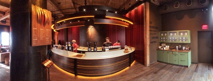 Storyville Coffee Company is one of Tempat yang Disukai A.