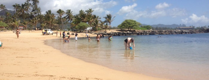 Lydgate Beach is one of Places to Visit: Kauai, HI.