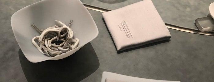 Enigma is one of Estrellas Michelin.