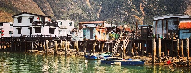 Tai O Market is one of Hong Kong.