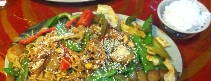 Khan's Mongolian Barbeque is one of Gluten-Free Dining Options.