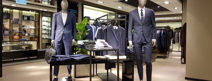 Hugo Boss is one of Melbourne.