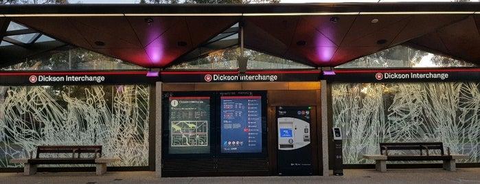 Metro Dickson Interchange is one of Canberra Metro.