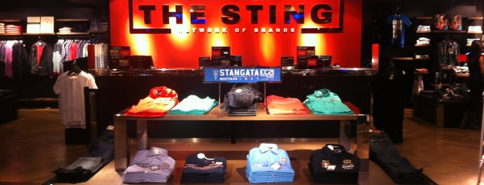 The Sting is one of London shopping..